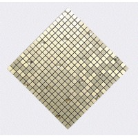 Peel and Stick Tile, Metal Square