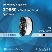3D printer filament ( 1.75 / 3mm Modified PLA--NatureWorks Ingeo 3D850)