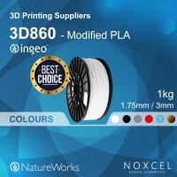 3D printer filament ( 1.75mm Modified PLA--NatureWorks Ingeo 3D860)