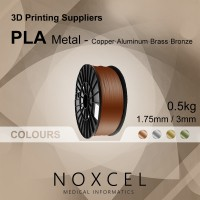 3D printer filament ( PLA METAL ) - Copper / Aluminium / Brass / Bronze