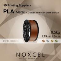3D printer filament ( PLA METAL ) - Copper / Aluminium / Brass / Bronze