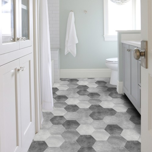 Peel and Stick Floor Tile - FT02