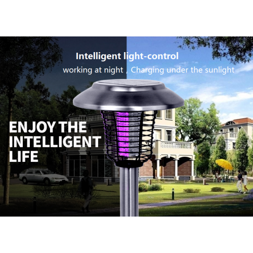 Solar Led Light  / Insect Control for Garden