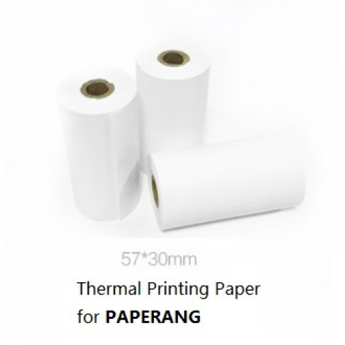 Thermal Printing Paper for PAPERANG(White-1Y life for image)